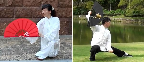 Chen Style Tai Chi 24 Fan Form