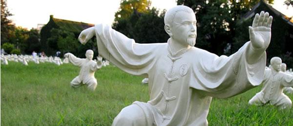 Tai Chi Statues